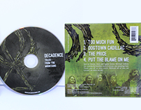 Decadence CD Packaging