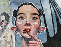 "Illustrations of fears 2014/2015 ""I am not afraid"""