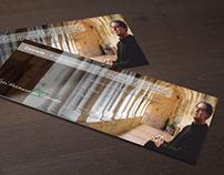 Cartaz e bilhete // Concerto de Frei Hermano da Câmara