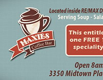 Maxies Coffee Bar Marketing Media