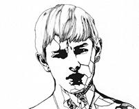 Luke Worrall, Yves Saint Laurent portrait