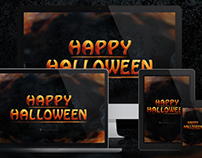 Happy Halloween Wallpaper Package
