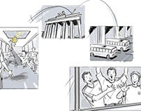 Pepsi world cup soccer storyboards