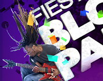 2011-12 Fiesta Bowl Block Party Branding