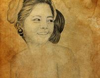 Natural Balinese Girl