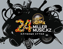 Millermusic.kz visual identity