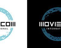 MOVIECOM INTERNATIONAL corporate identity