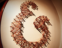 Kraf&Co. Ampersand / Thread - Nail Art