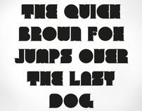Experimental font