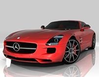 Mercedes Benz Special 3D Modeling Showcase