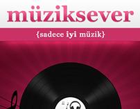 Müziksever - iOS Uygulaması (2013)