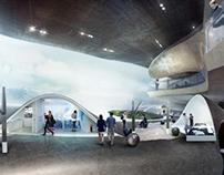 Pinggu Urban Planning Exhibition Center 1st Proposal