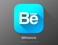 iOS7 Behance Live App UI/Icon
