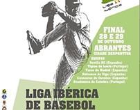 Cartaz e material de divulgação para a Liga Ibérica