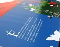 Ilustrações e design editorial para livro infantil