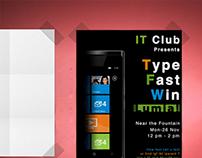 Type Fast Win Lumia !