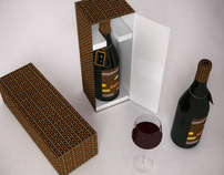 A Bourgogne wine bottle packaging project