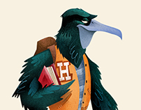 Character Design for The Houstonian