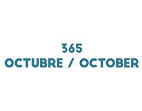 365 rounds Octubre / October