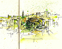 India & Denmark Sketchbook