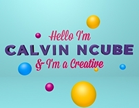 I'm a Creative - 3D Typography