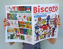 Cover Biscoto #4 / La Famille