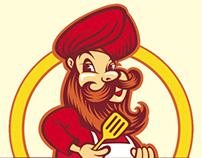 Logo-mascot design - Ekam Amritsari kitchen Restaurant