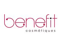 Benefit - Nouvelle identité - New logo