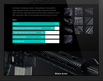 Praetorian Tactical - branding and web concept