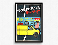 Jon Spencer Blues Explosion – Gigposter