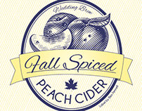Fall Spiced Peach Cider