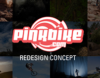 Pinkbike Redesign Concept