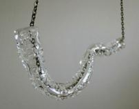 bubble tube necklace