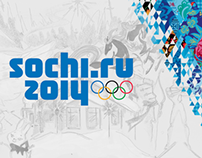Sochi 2014 - Poster & Newspaper