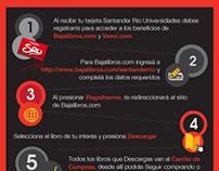 Flyers Banco RIO - Vesvi y Bajalibros