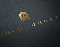 White GHOST Logo