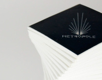 Metropole perfume packaging