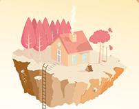 """""""Una casa en el aire"""""""
