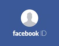 Facebook ID Concept