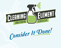 Cleaning Element Branding Project