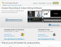 TechSmith Camtasia Studio Product Page