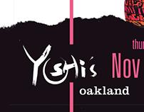 Yoshi's print handbills