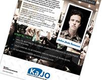 KAJO - logo optimization and posters