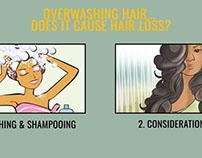 Overwashing hair... Does it cause Hair Loss?