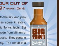 Branding / ad  |   Big Tony's BBq