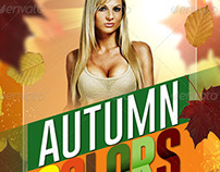 Autumn Colors Fall Party Flyer
