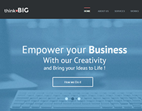 Think Big - Creative Muse and HTML Theme