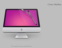 临摹 clean my mac by zystoo
