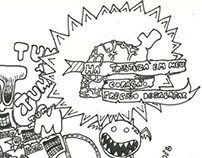 Ilustração para estampa