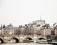 reminiscences of a few days spent in Paris. spring 2013